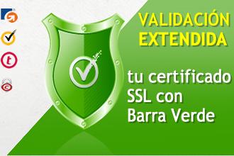 Certificados con Barra verde